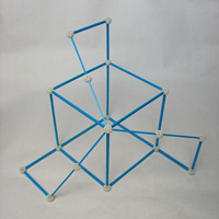 Zome - An eighth of the dodecahedron | matematicasvisuales