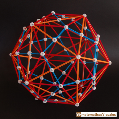 Dodecahedron: dodecahedron and icosahedron duality, triacontahedron, zome model | matematicasVisuales
