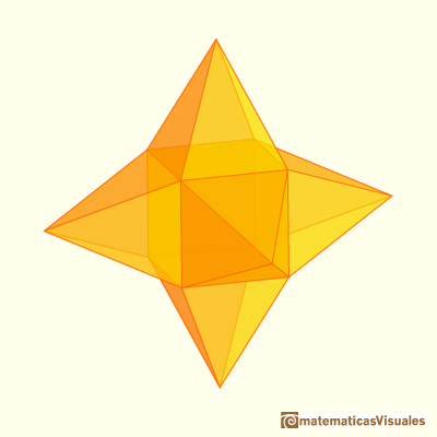 | Cuboctahedron and Rhombic Dodecahedron | matematicasVisuales