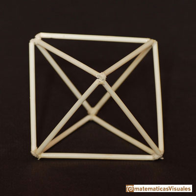 Platonic polyhedra: octahedron | Cuboctahedron and Rhombic Dodecahedron | matematicasVisuales