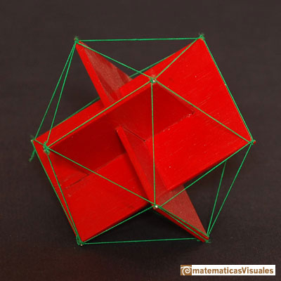 Platonic polyhedra: Icosahedron | Cuboctahedron and Rhombic Dodecahedron | matematicasVisuales