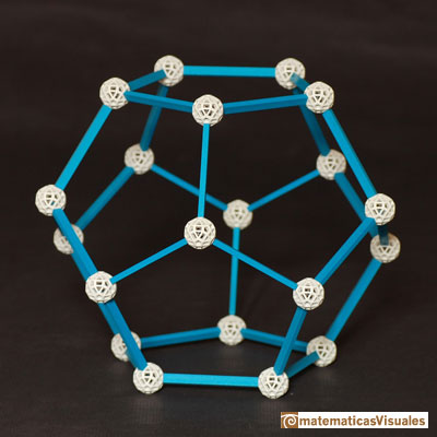 Platonic polyhedra: Tetrahedron | Cuboctahedron and Rhombic Dodecahedron | matematicasVisuales