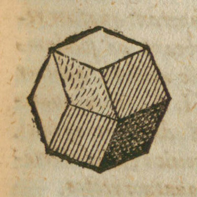 Pyramidated cube and Rhombic Dodecahedron: Kepler in his book Harmonices Mundi | matematicasvisuales