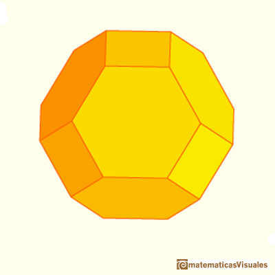 Octaedro truncado | Cuboctahedron and Rhombic Dodecahedron | matematicasVisuales